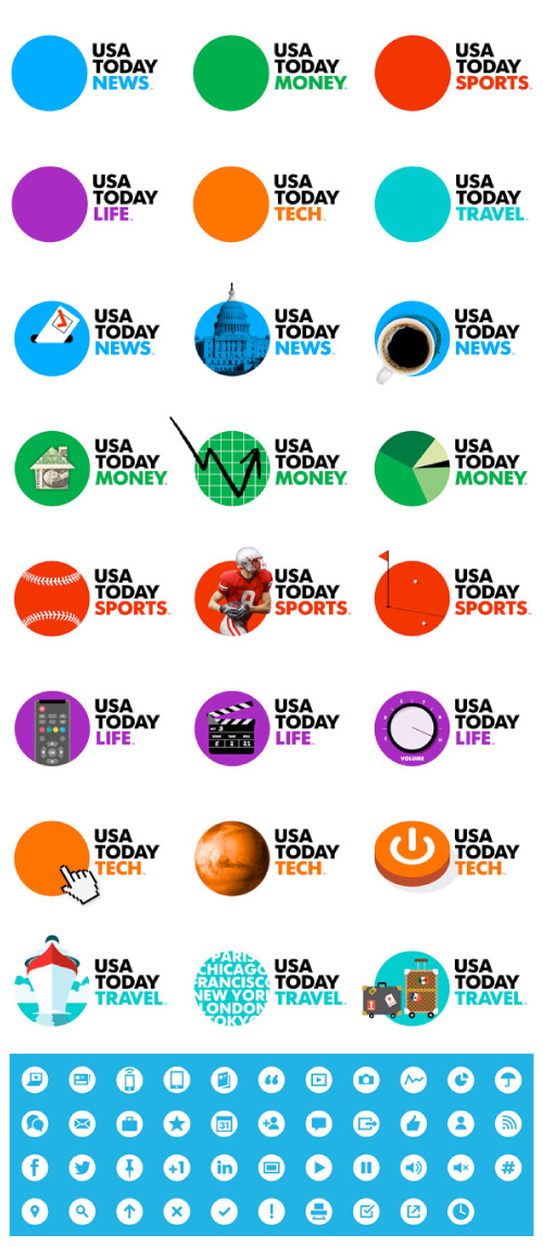 USA Today Icons