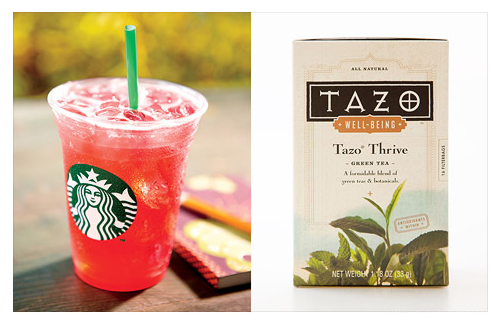 Tazo Tea - Courtesy of Starbucks