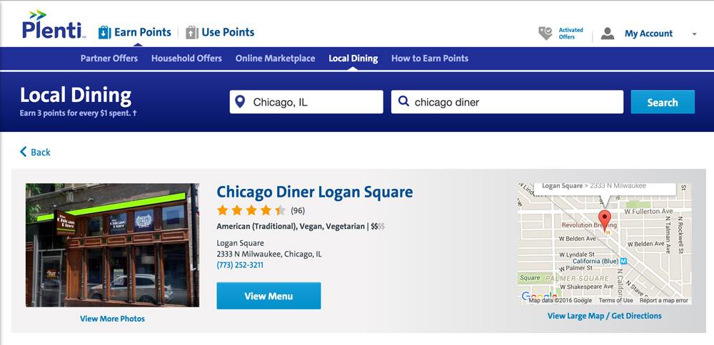 Restaurant Details Page